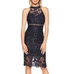 BARDOT ISA LACE HALTER DRESS 👗IN STORES👗STUNNING